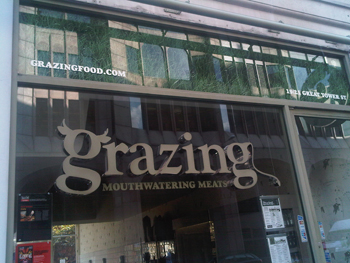 Grazing in central London!