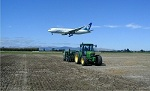 Sowing grass to save lives in the skies