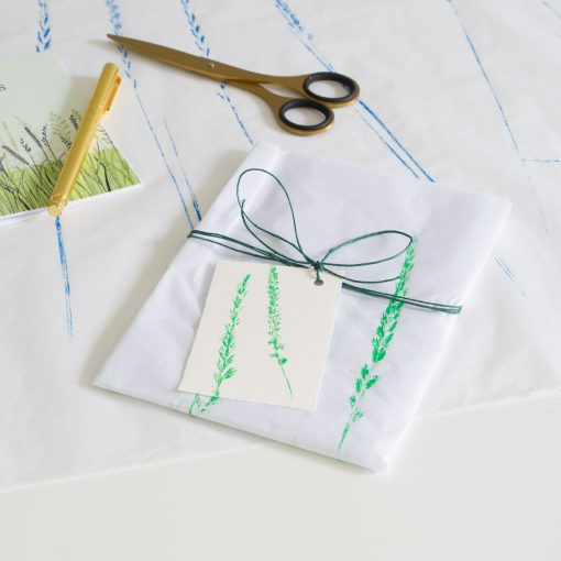 Tissue paper gift wrap - Green