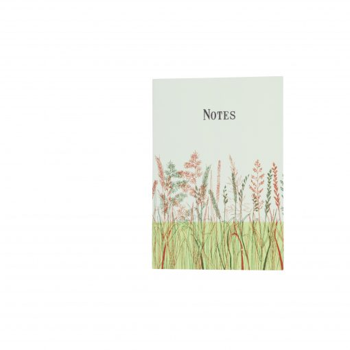 Grass Notebook - Red