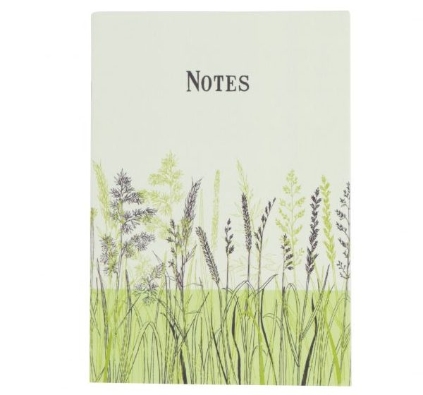 Grass Notebook - Blue