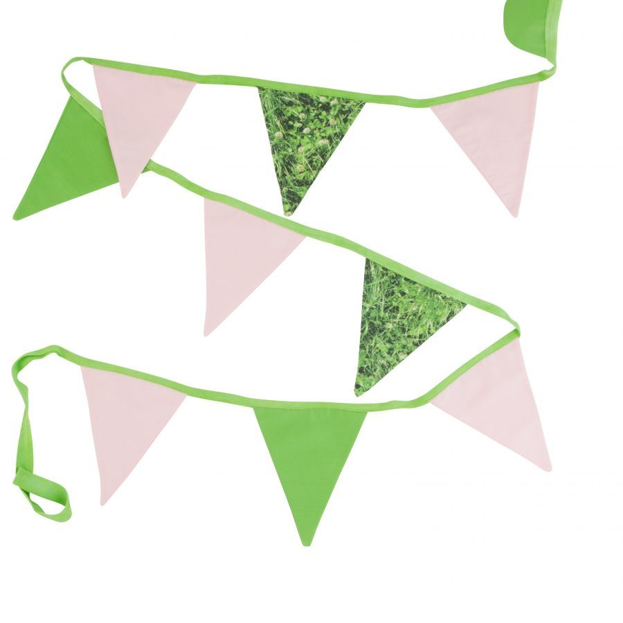 Grassy and Green 100% cotton bunting