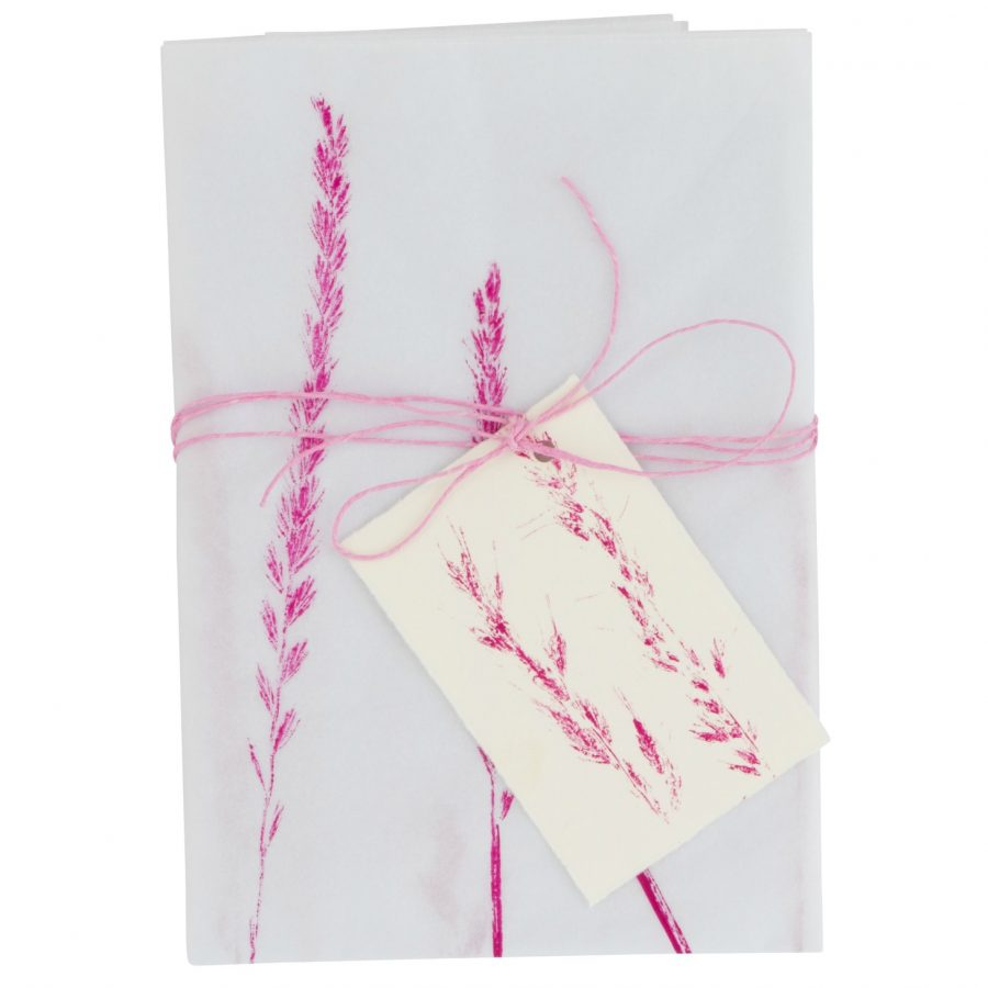 Tissue paper gift wrap pink cut-out