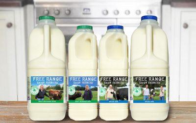 Free-range dairy is causing a stir!