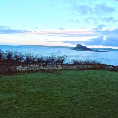 talking grass blog - a week in Sara's working life. St Michael's Mount.